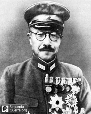 Hideki Tōjō - Primeiro Ministro do Japão na Segunda Guerra Mundial