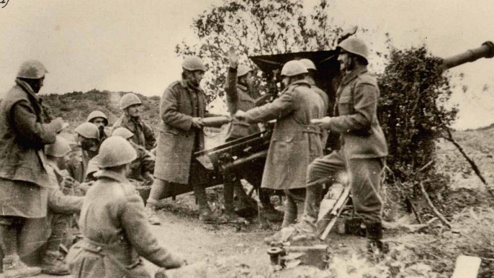 Artilharia da Grécia na Segunda Guerra Mundial