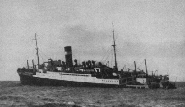 Torben of the English ship Athenia near the Hebrides