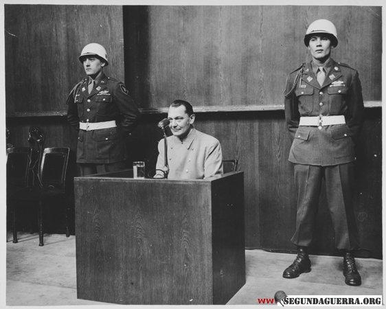 Göring em Nuremberg