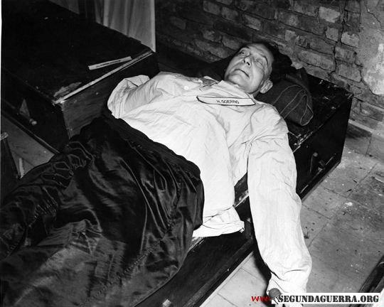 Göring morto