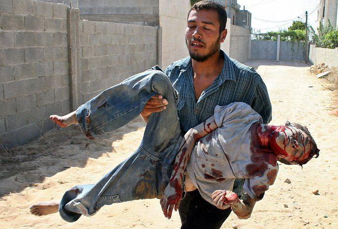 Vitima de Ataque Israelense