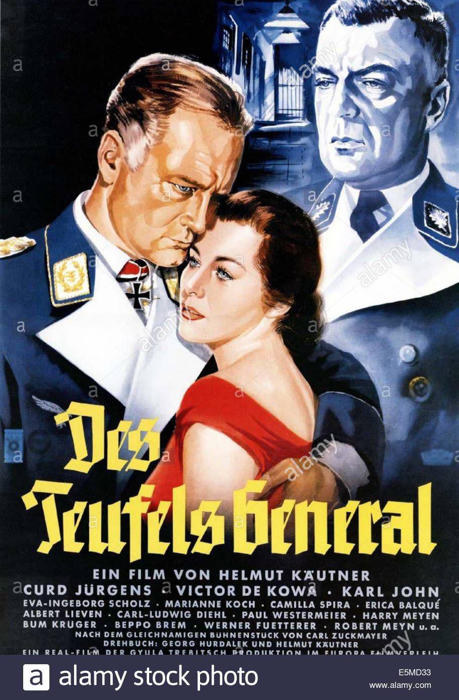 the-devils-general-aka-des-teufels-generalgerman-poster-art-curd-jurgens-E5MD33.jpg