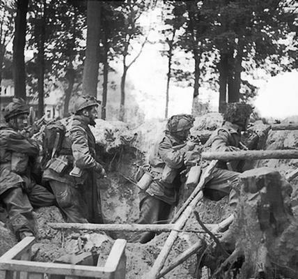 British 1st Parachute Battalion at Arnhem