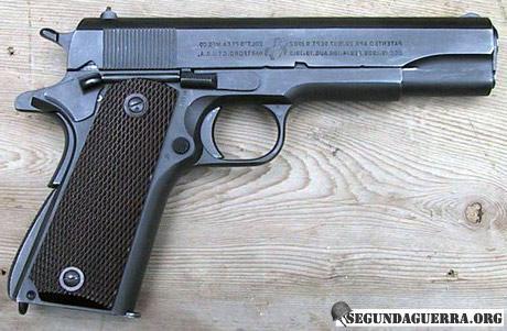 Armas da FEB - Pistola Colt .45