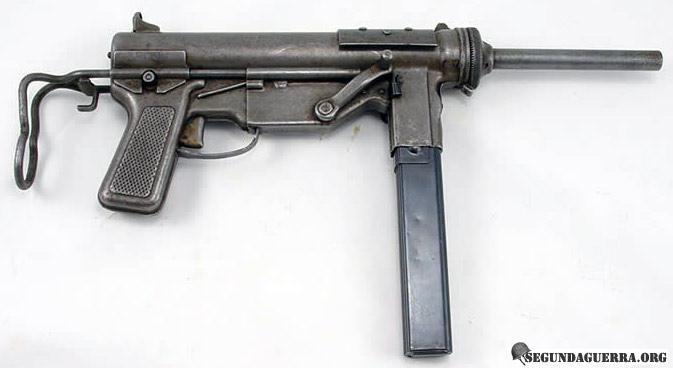 Armas da FEB - Submetralhadora M-3