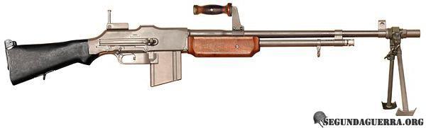 Armas da FEB - Fuzil Metralhador Browning