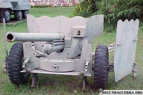 Armas da FEB - Canhão de 57 mm
