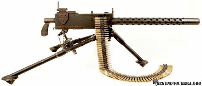 Armas da FEB - Metralhadora Browning M-919