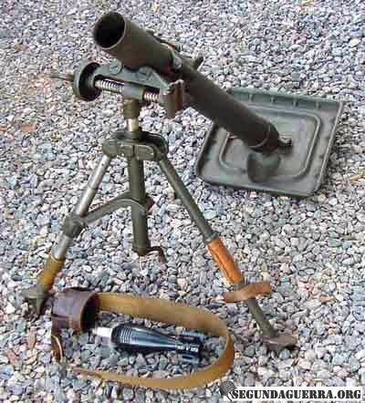 Armas da FEB - Morteiro de 60 mm