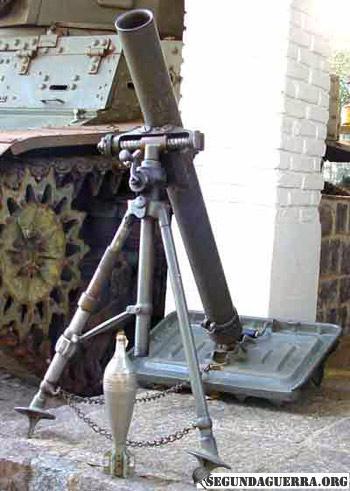 Armas da FEB - Morteiro de 81 mm M1