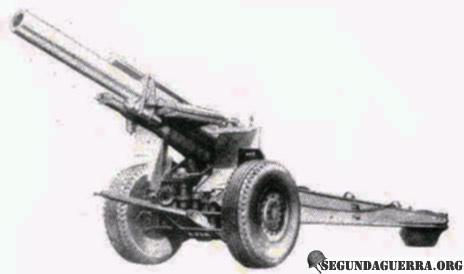 Armas da FEB - Obus de 155 mm M-1