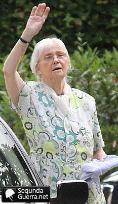 Gudrun Burwitz, filha de Heinrich Himmler
