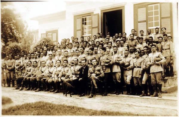 1ª Formação Sanitária em Valença/RJ, o qual deu origem ao Batalhão de Saúde.