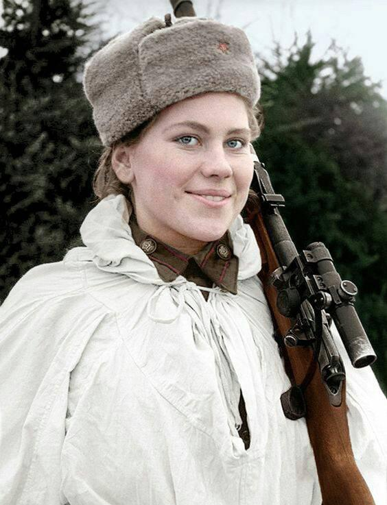 Snipers Roza Georgiyevna Shanina
