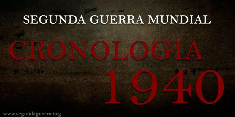 Cronologia Segunda Guerra 1940