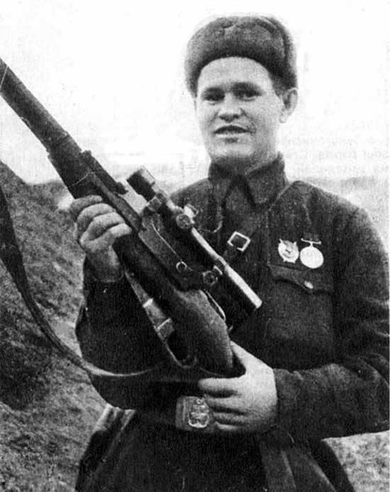 Snipers Vassili e seu Mosin-Nagant