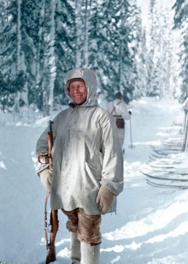 Snipers Simo Häyhä