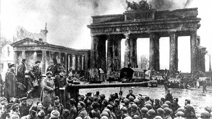 Berlim destruída em 1945