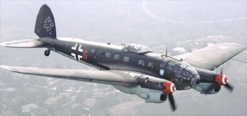 bombardeiro Heinkel He 111