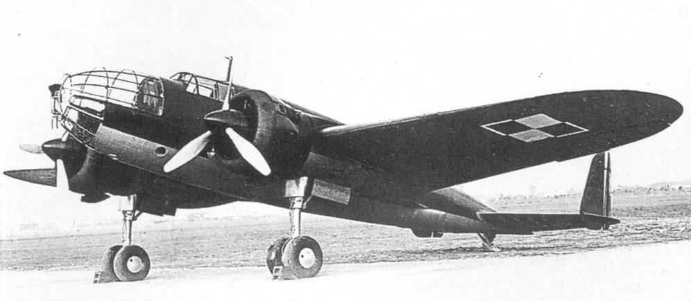 Bombardeiro P37 - Força Aérea Polonesa