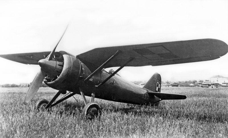 Aviao PZL P11