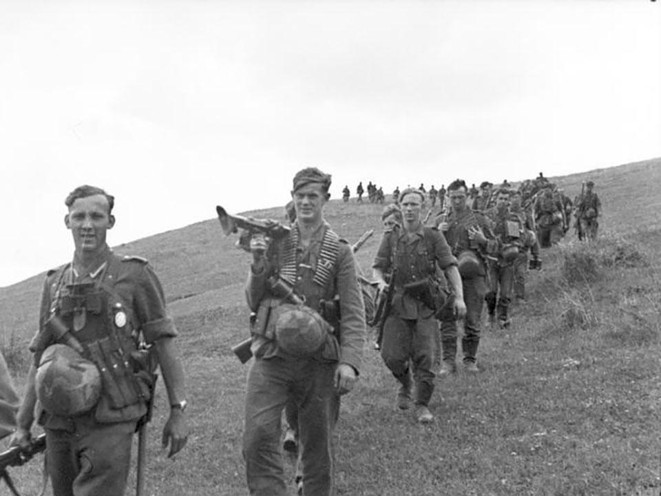Russland-Mitte/S¸d, Infanteristen
