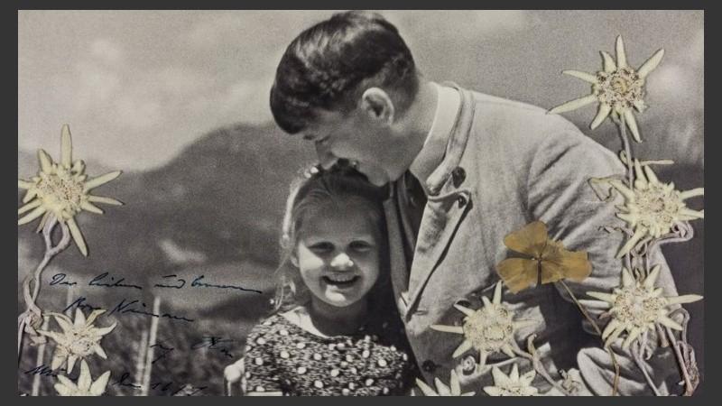 Hitler con Rosa Bernile Nienau
